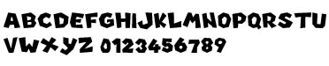 New Super Mario Bros U font preview