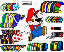 Mario Bros Dress-Up