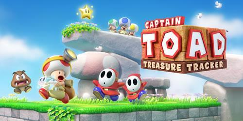 Captain Toad: Treasure Tracker Wii U header