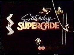 Saturday Supercade cartoon title screen