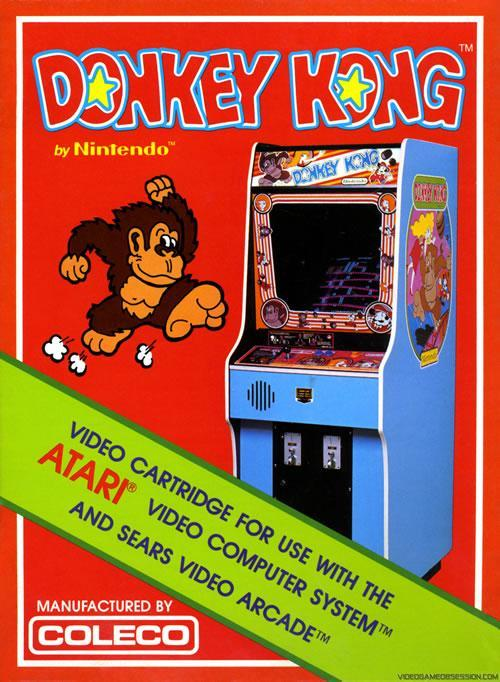 A poster for the Coleco version of Donkey Kong