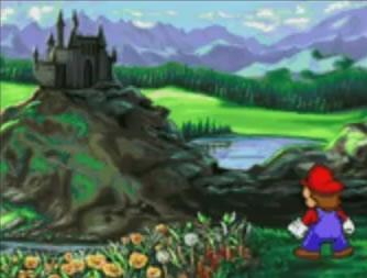 Mario arrives at Bowsers Castle / Museum
