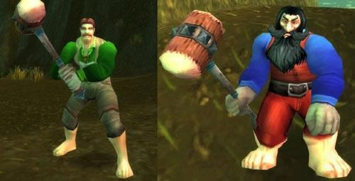 Mario and Luigi cameo appearance in WoW