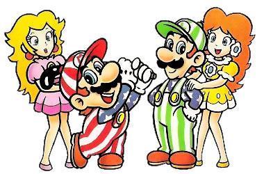 Mario & Peach, Luigi and Daisy