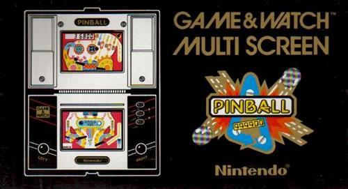 The Game & Watch version of Pinball from 1983