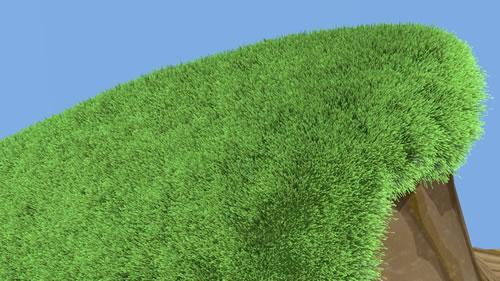 Ambient grass third sim