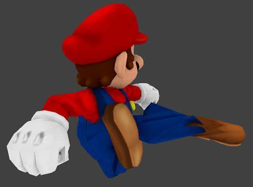 Mario making someone 'rekt'