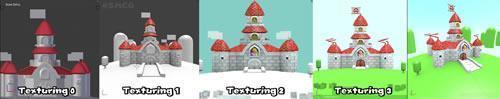 Super Mario CGi: Castle redevelopment