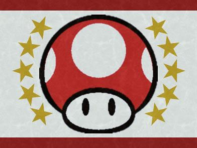 Super Mario CGi: An early flag design