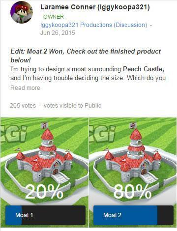 Super Mario CGi: Moat vote