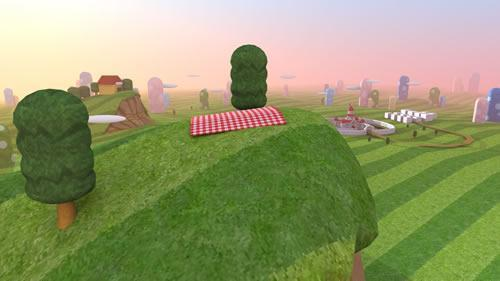 Super Mario CGi: Trees scene post poll