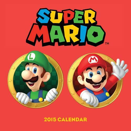 Super Mario Bros 2015 Calendar front