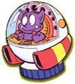 Tatanga in his Spaceship