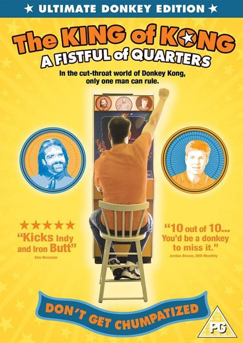 The King of Kong a fist full of quarters dvd cover - a film about Donkey Kong