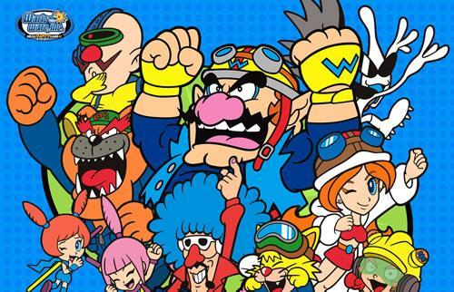 Wario Ware Inc: Mega Party Games artwork