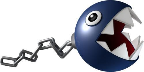 A chain chomp