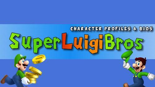 Super Mario Character Profiles & Bios header image