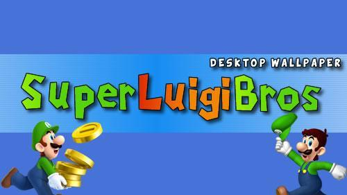 Super Mario Bros themed desktop wallpaper header image