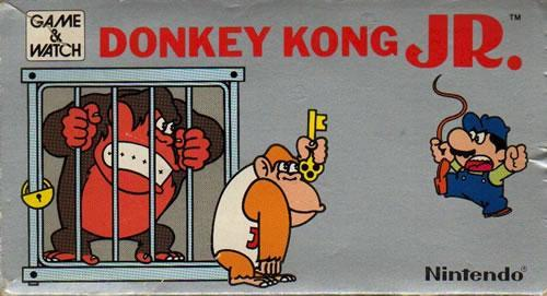 Donkey Kong Jr Game & Watch from 1982