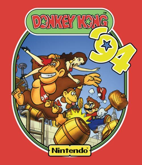 An artwork for Donkey Kong 94