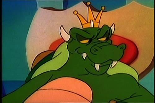 King Koopa in the SMB Super Show