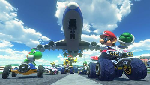 Sunshine Airport in MK8