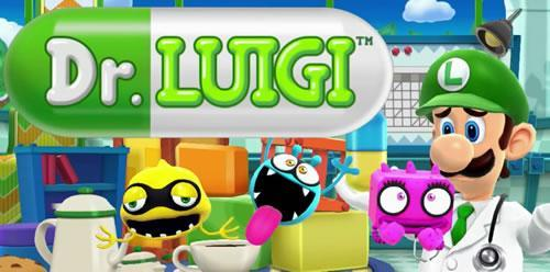 Luigi as a doctor in the Wii U's HD puzzler