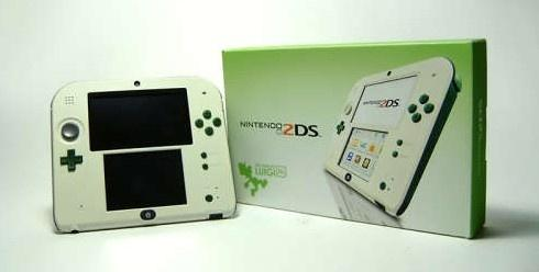 Luigi edition Nintendo 2DS by Matthew Wiggins