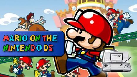 Mario Games on the Nintendo DS header image