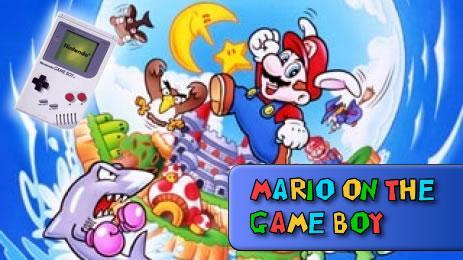 All of the games that starred Mario on the Gameboy