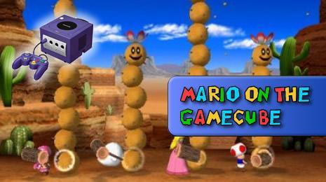 Super Mario Games on the Gamecube header image