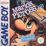 Mario's Picross a Japanese puzzle Mario game on the Gameboy