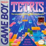 The classic Nintendo puzzler Tetris on the Gameboy