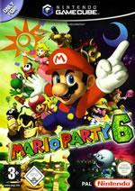 Mario Party 6 small box art