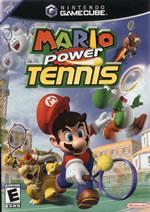 Mario Power Tennis small box art