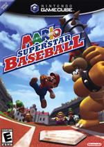 Mario Superstar Baseball small box art