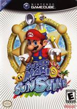 Super Mario Sunshine small box art