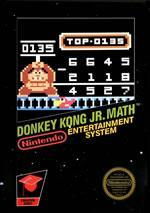 Edutainment title Donkey Kong Jr. Math on the NES