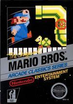 Oldschool arcade classic - Mario Bros on the NES