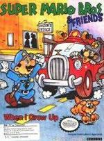 Another Mario Edutainment title for the PC - Super Mario Bros and friends When I grow up
