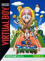 Mario Tennis on the VBoy Box cover