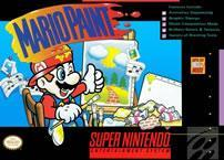 Show your artistic side on the SNES with Mario Paint