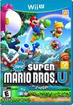 New Super Mario Bros U box cover