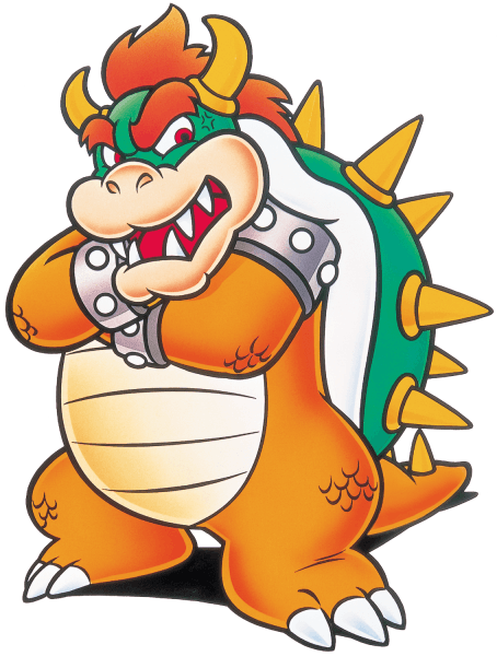 Bowser in Super Mario World