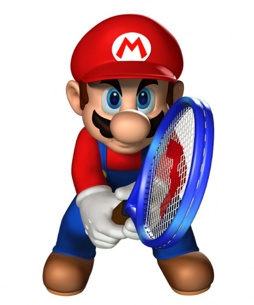 Mario in Mario Tennis: Power Tour