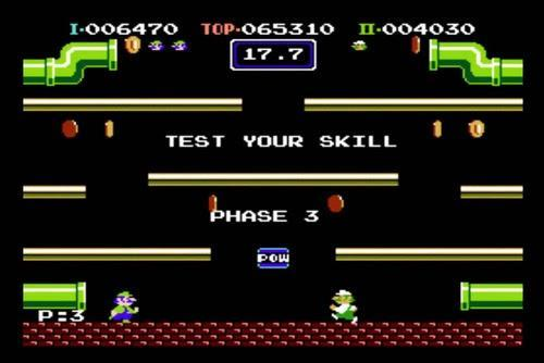 Luigi Bros Phase 3 - test your skill