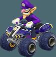 Waluigi in Mario Kart 8