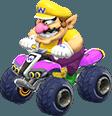 Wario in Mario Kart 8