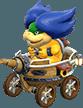 Ludwig Von Koopa in Mario Kart 8