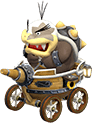 Morton Koopa Jr in Mario Kart 8